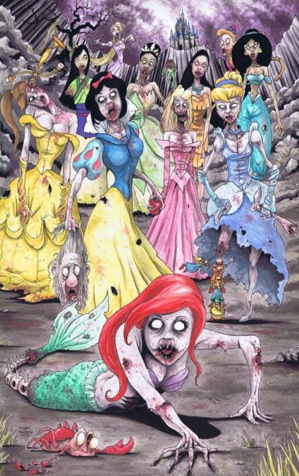 N  227 o sei quem   233  o artista  mas ficou demais Zombie Disney Characters Costumes