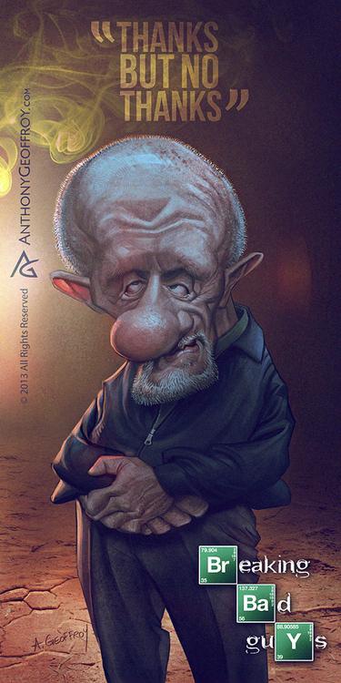 Caricaturas dos personagens de Breaking Bad (4)