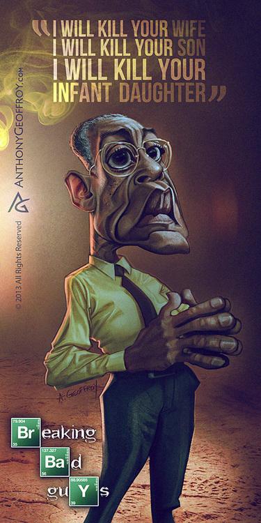 Caricaturas dos personagens de Breaking Bad (5)