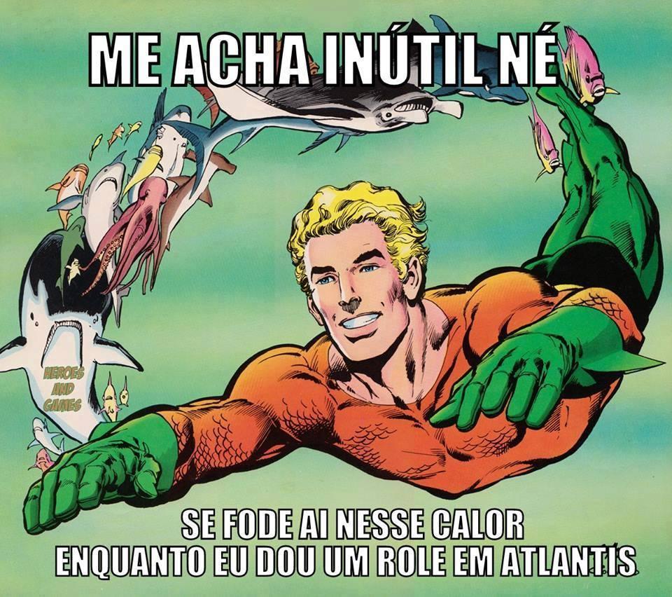 Aquaman Inútil