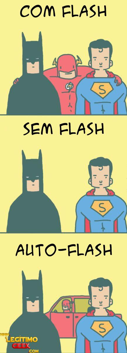 Flash manja dos trocadilhos