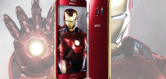 galaxy s6 edge iron man