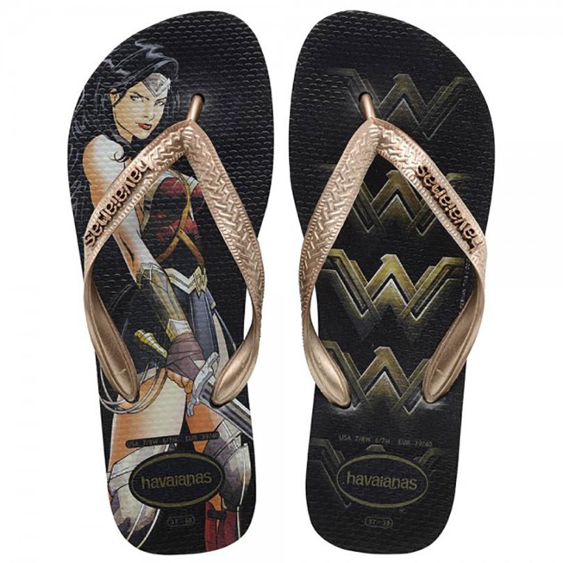 Havaianas lança linha de chinelos inspirados em Batman vs Superman