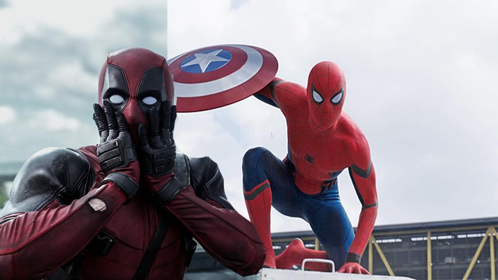 Deadpool e Homem Aranha podem se encontrar nos cinemas