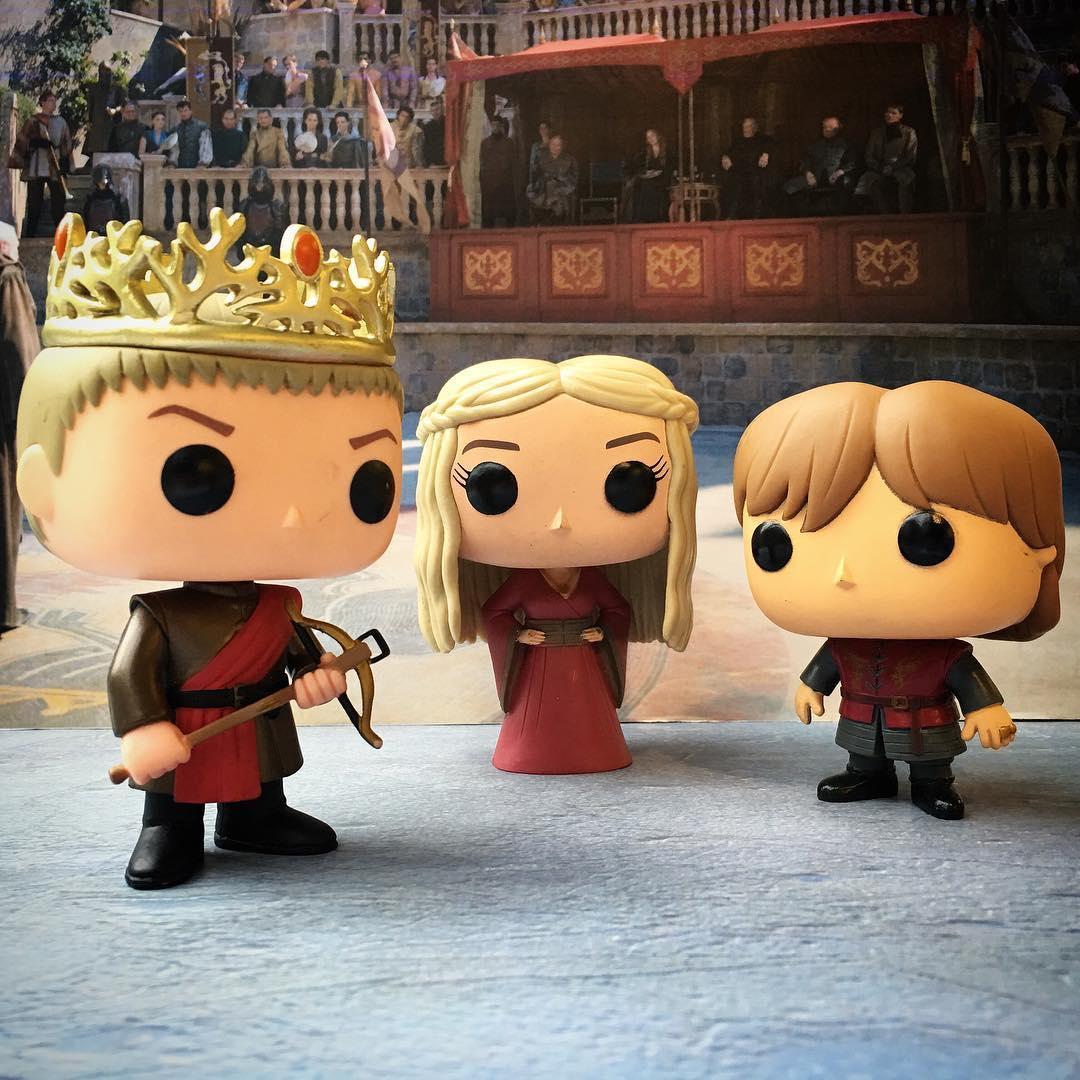 Game of Thrones lança linha de bonequinhos Funko Pop