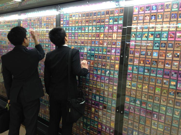 Exposição mostra todas as cartas de Yu-Gi-Oh