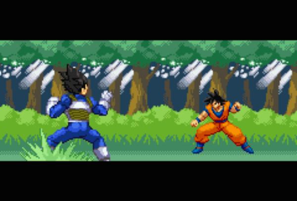 Dragon Ball Z Team Training   Um jogo de DBZ no estilo Pokémon