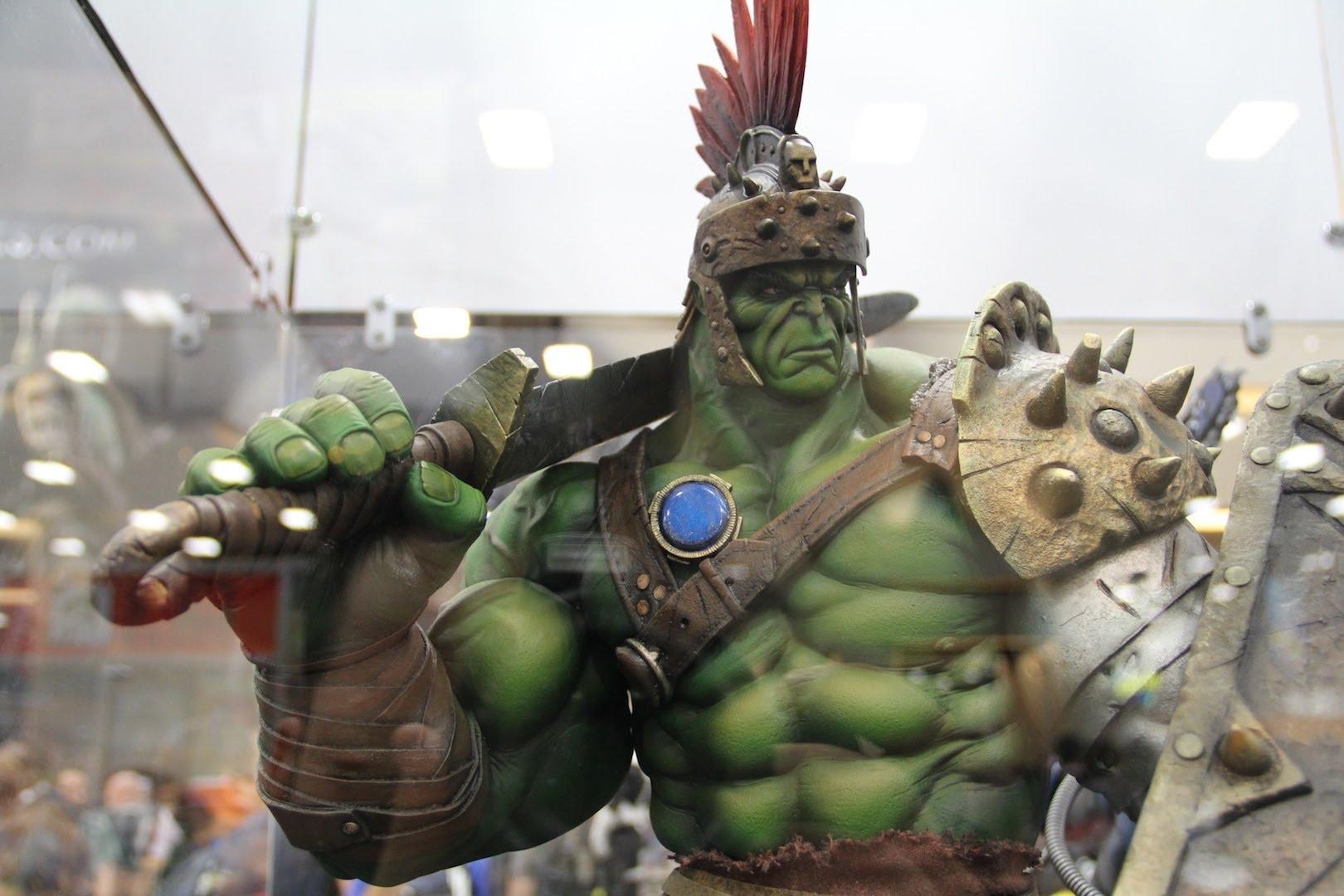 Thor Ragnarok | Aramadura do Hulk é exibida em vídeo