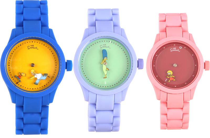 a2ec10037 Empresa lançou linha de relógio inspirada nos Simpsons