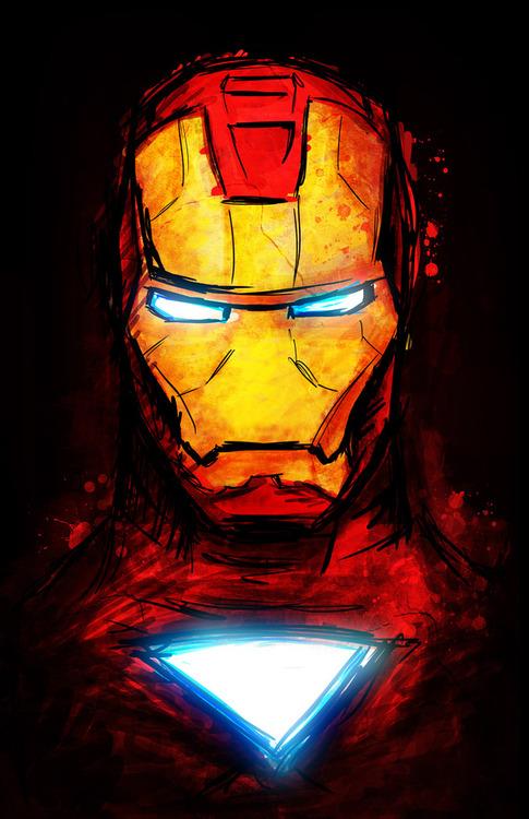 Desenhos De Herois Da Marvel Por Dalys Burnes